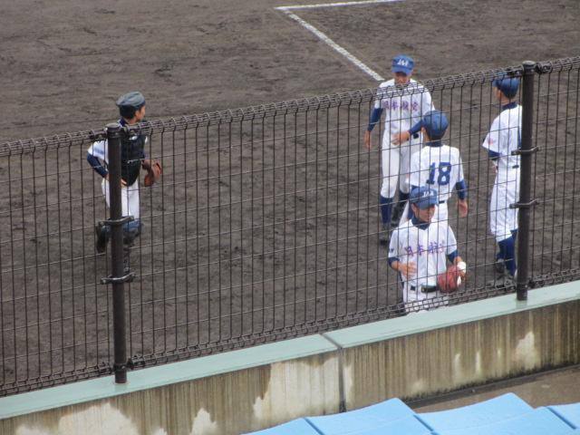 北信越高校野球石川県大会  航空vs泉丘 066