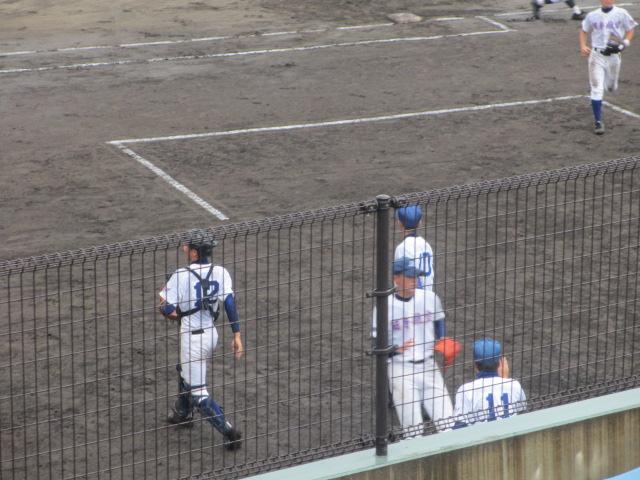 北信越高校野球石川県大会  航空vs泉丘 064
