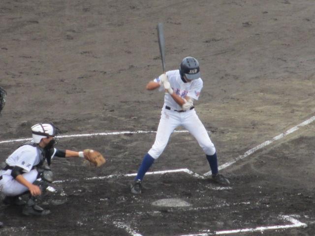 北信越高校野球石川県大会  航空vs泉丘 074