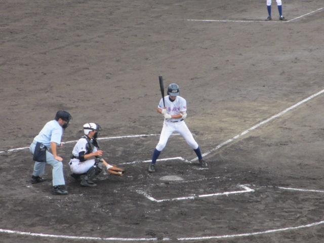 北信越高校野球石川県大会  航空vs泉丘 073