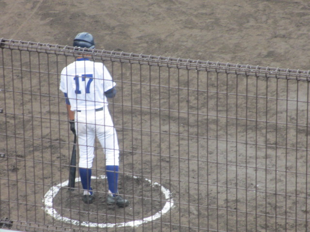 北信越高校野球石川県大会  航空vs泉丘 072