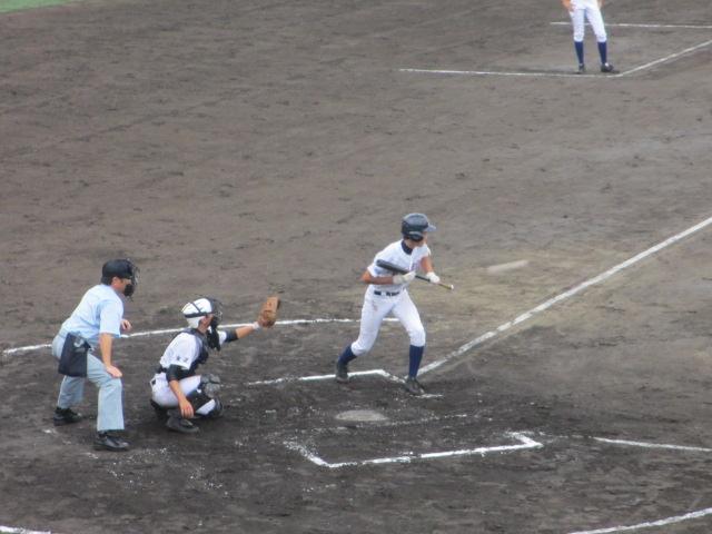 北信越高校野球石川県大会  航空vs泉丘 071