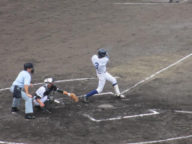 北信越高校野球石川県大会  航空vs泉丘 069