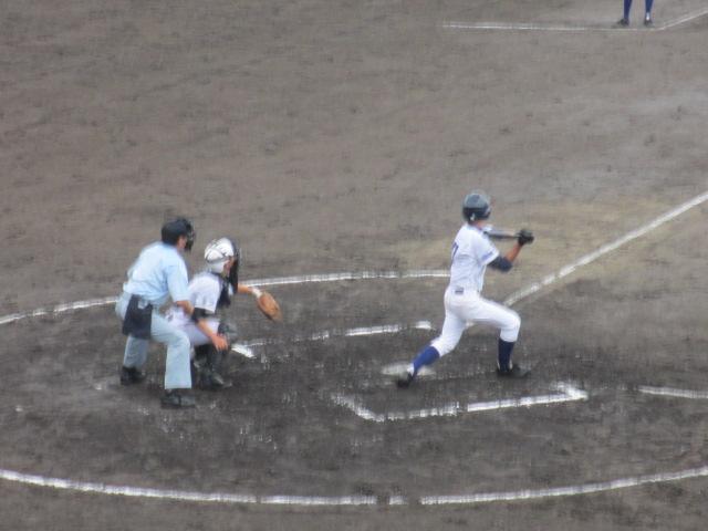 北信越高校野球石川県大会  航空vs泉丘 079