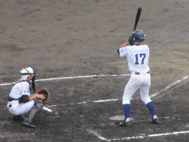 北信越高校野球石川県大会  航空vs泉丘 077