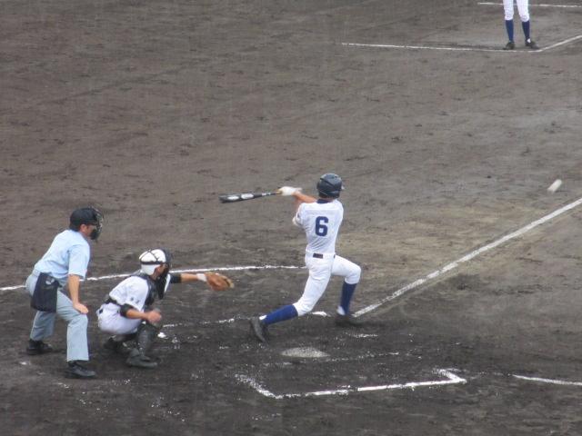 北信越高校野球石川県大会  航空vs泉丘 076