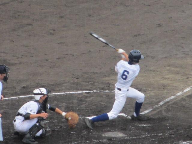 北信越高校野球石川県大会  航空vs泉丘 075