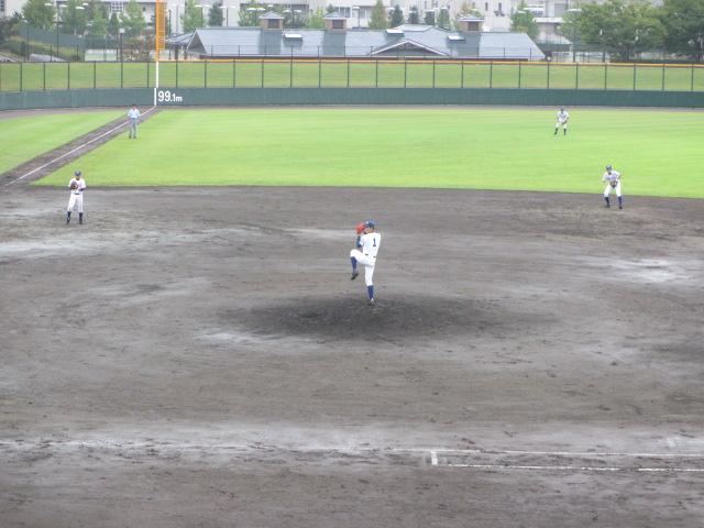 北信越高校野球石川県大会  航空vs泉丘 085
