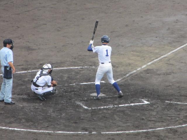 北信越高校野球石川県大会  航空vs泉丘 082