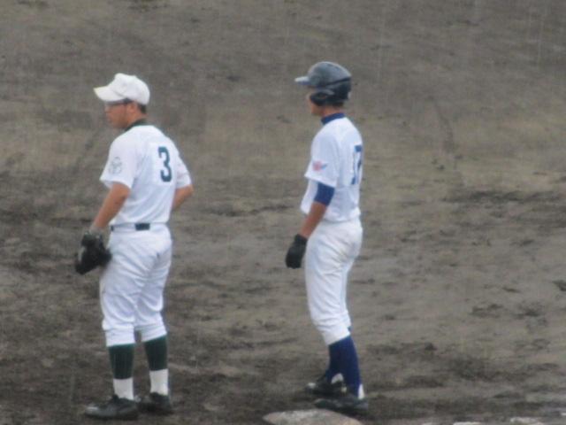 北信越高校野球石川県大会  航空vs泉丘 081