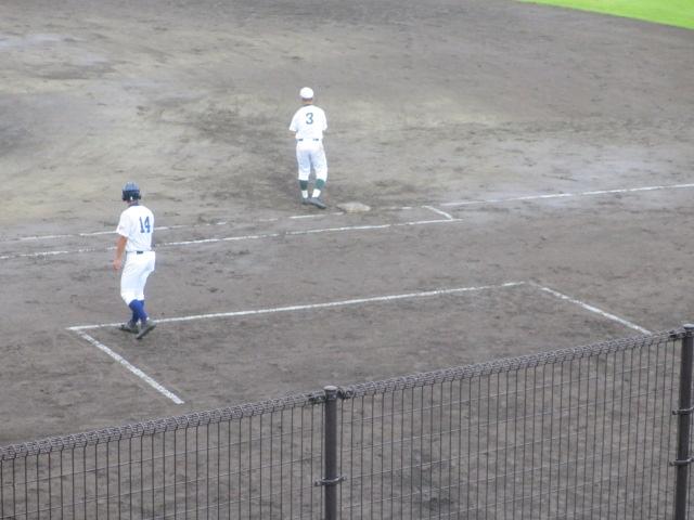 北信越高校野球石川県大会  航空vs泉丘 092