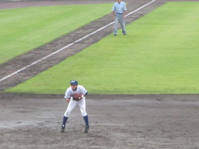 北信越高校野球石川県大会  航空vs泉丘 091