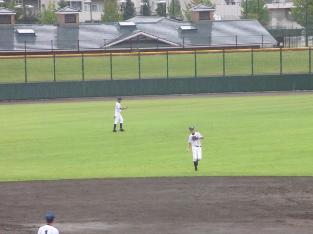 北信越高校野球石川県大会  航空vs泉丘 089