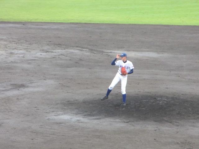 北信越高校野球石川県大会  航空vs泉丘 090