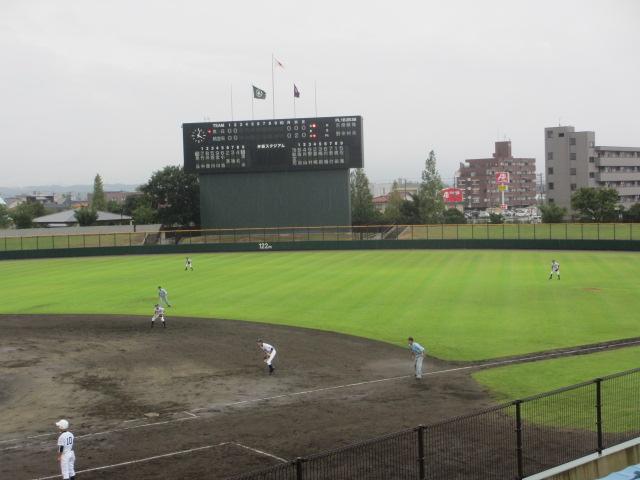 北信越高校野球石川県大会  航空vs泉丘 088