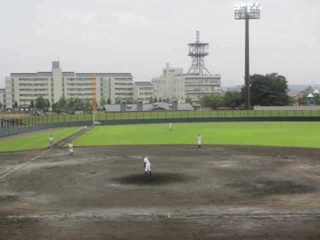 北信越高校野球石川県大会  航空vs泉丘 087