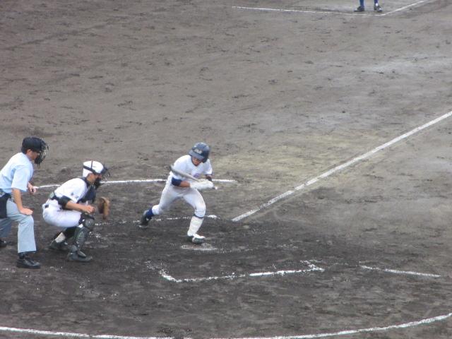 北信越高校野球石川県大会  航空vs泉丘 097