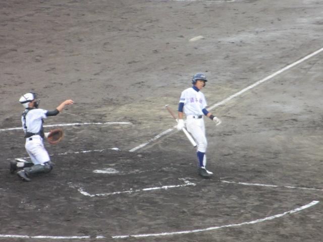 北信越高校野球石川県大会  航空vs泉丘 094
