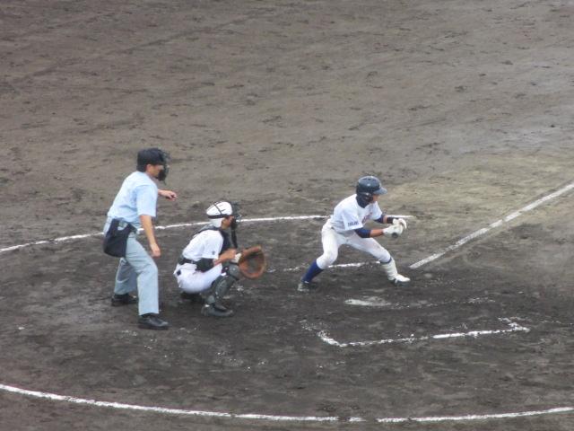 北信越高校野球石川県大会  航空vs泉丘 093
