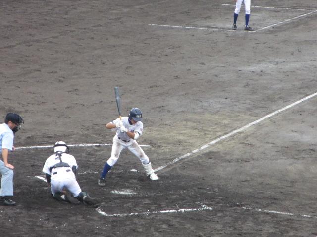 北信越高校野球石川県大会  航空vs泉丘 104