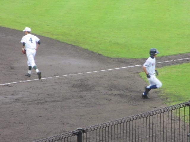 北信越高校野球石川県大会  航空vs泉丘 102