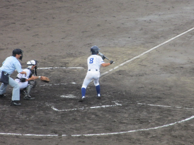 北信越高校野球石川県大会  航空vs泉丘 100