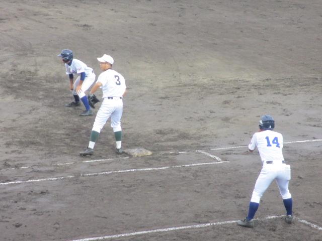 北信越高校野球石川県大会  航空vs泉丘 099