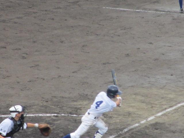 北信越高校野球石川県大会  航空vs泉丘 107