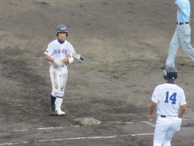 北信越高校野球石川県大会  航空vs泉丘 108