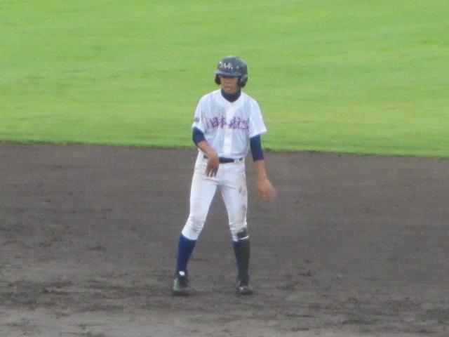 北信越高校野球石川県大会  航空vs泉丘 105