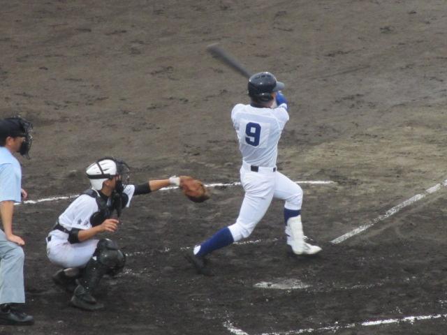 北信越高校野球石川県大会  航空vs泉丘 116