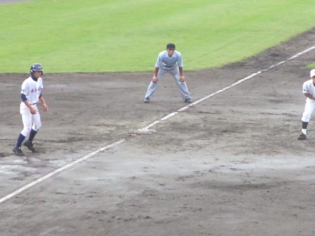 北信越高校野球石川県大会  航空vs泉丘 114