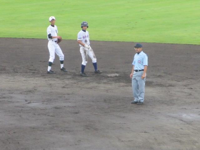 北信越高校野球石川県大会  航空vs泉丘 122