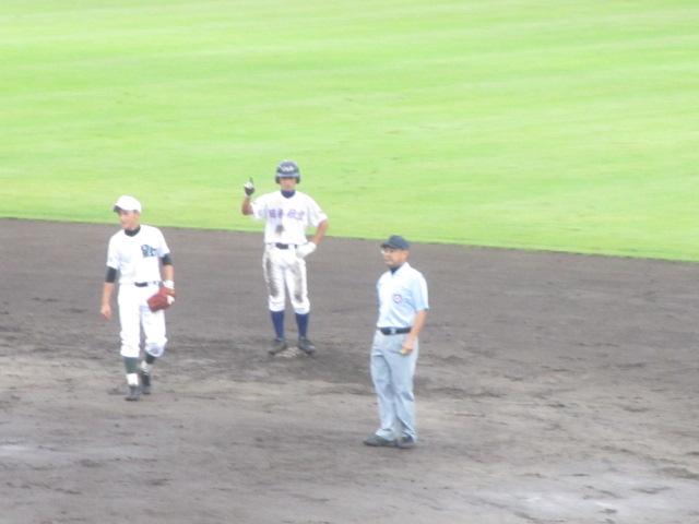 北信越高校野球石川県大会  航空vs泉丘 119