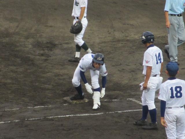 北信越高校野球石川県大会  航空vs泉丘 118