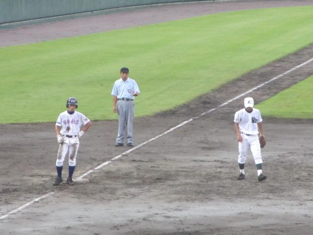 北信越高校野球石川県大会  航空vs泉丘 126