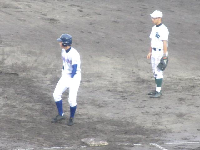 北信越高校野球石川県大会  航空vs泉丘 123