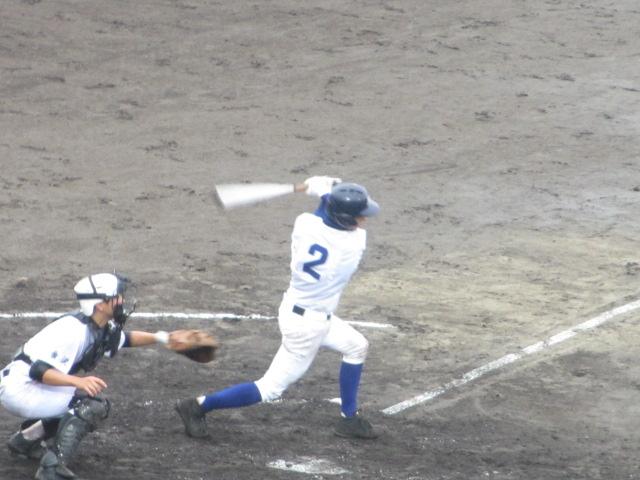 北信越高校野球石川県大会  航空vs泉丘 124