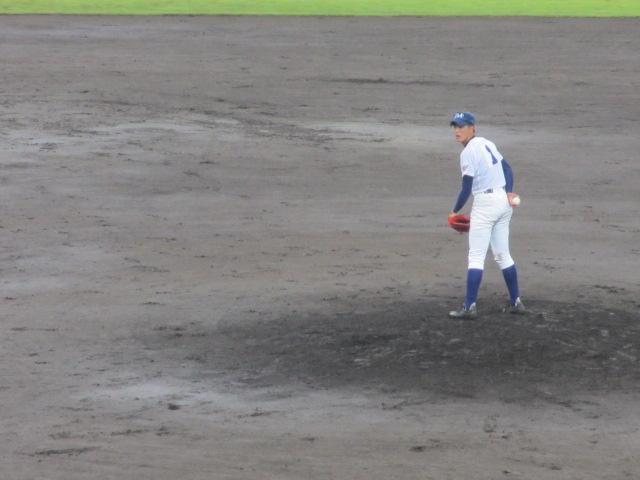 北信越高校野球石川県大会  航空vs泉丘 134