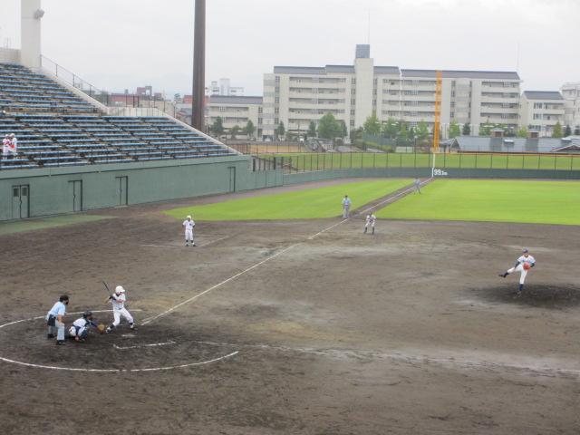 北信越高校野球石川県大会  航空vs泉丘 132