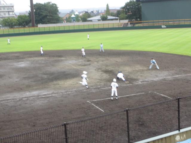 北信越高校野球石川県大会  航空vs泉丘 131