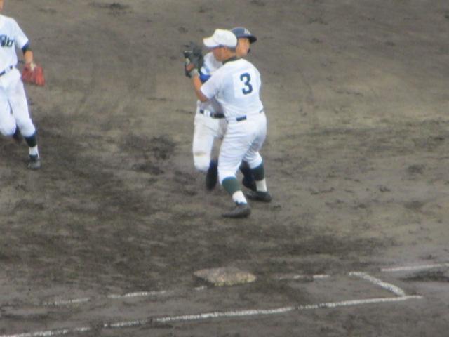 北信越高校野球石川県大会  航空vs泉丘 129