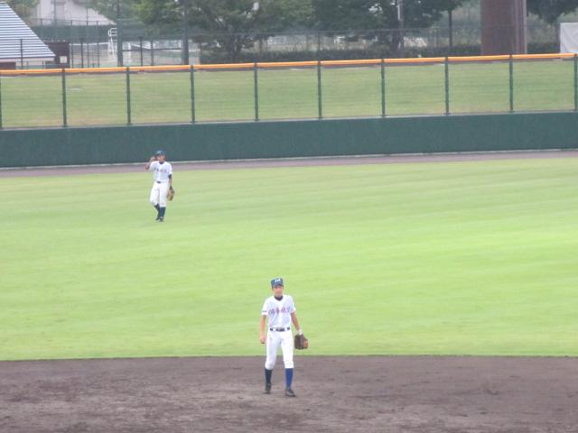 北信越高校野球石川県大会  航空vs泉丘 140