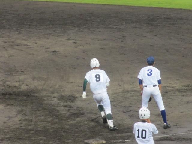 北信越高校野球石川県大会  航空vs泉丘 138
