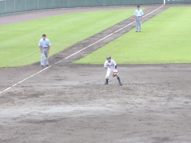 北信越高校野球石川県大会  航空vs泉丘 137