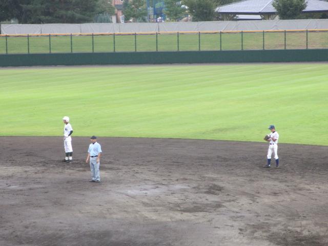 北信越高校野球石川県大会  航空vs泉丘 143