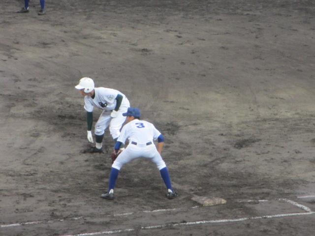 北信越高校野球石川県大会  航空vs泉丘 142