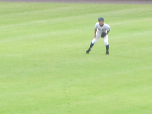 北信越高校野球石川県大会  航空vs泉丘 147