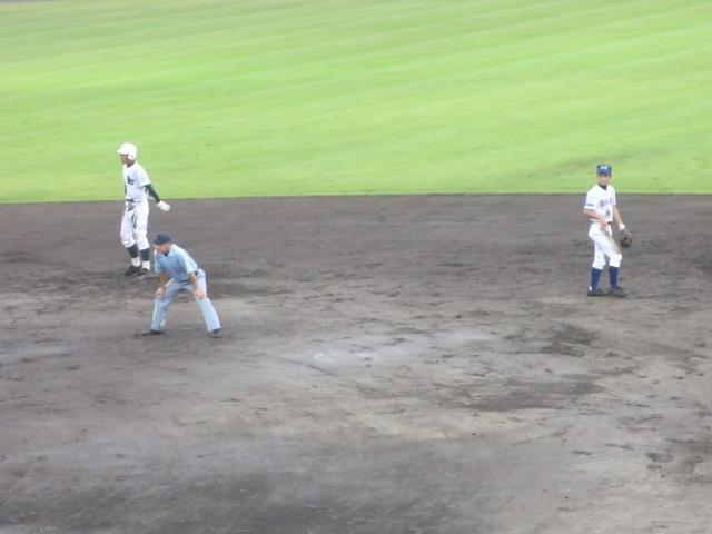 北信越高校野球石川県大会  航空vs泉丘 145