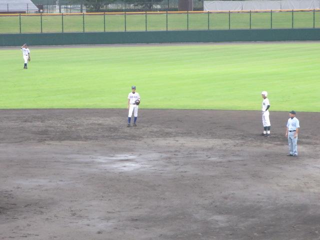 北信越高校野球石川県大会  航空vs泉丘 144